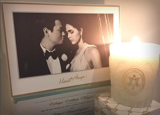 เทียนหอมงานแต่ง | ของชำร่วยงานแต่ง ความหมายดี